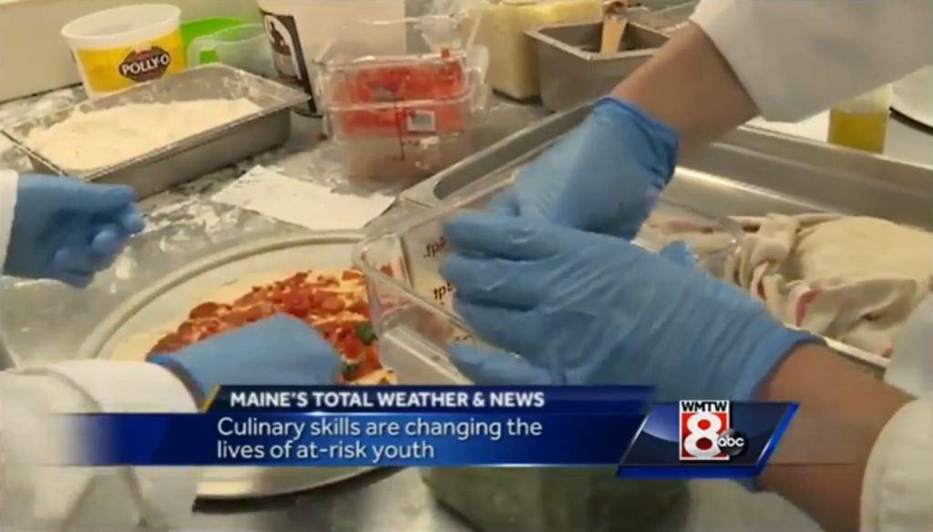 WMTW story about Long Creek Youth Development Center's Culinary Arts Program